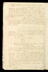 Fair Minutes Of The Committee For The Abolition Of The Slave Trade f. 3v